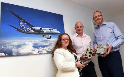 Birmingham aerospace manufacturer taking off