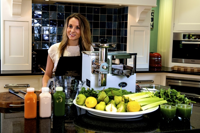 Cheers! The Juice Executive presses forward with £600,000 sales boost