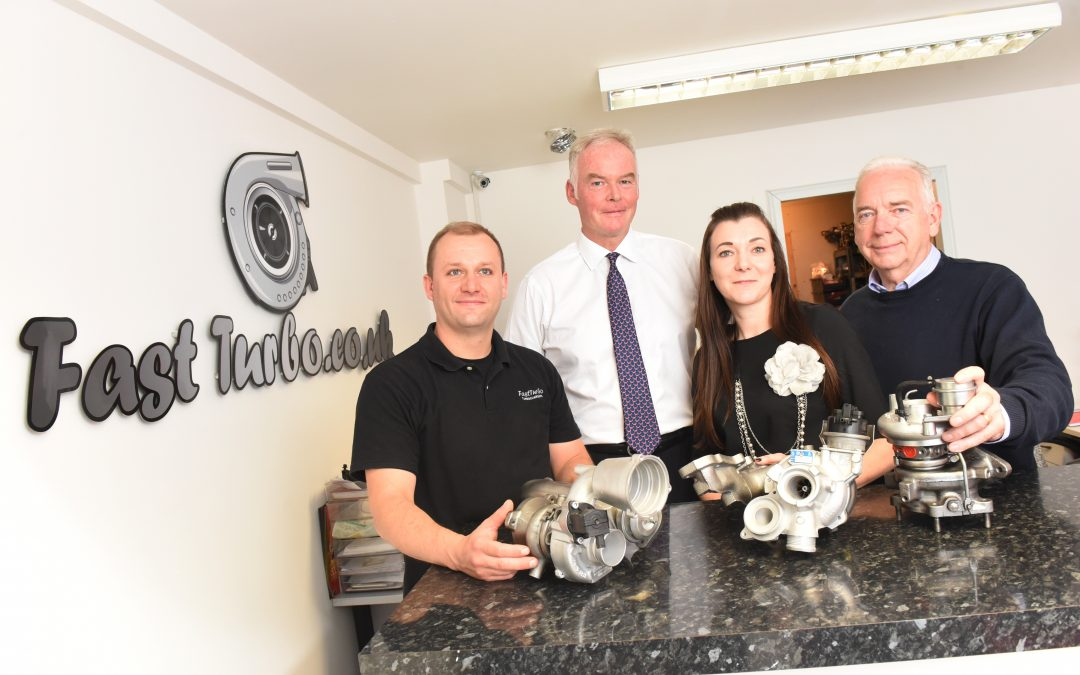 Northamptonshire turbocharger firm improves performance with manufacturing advice boost