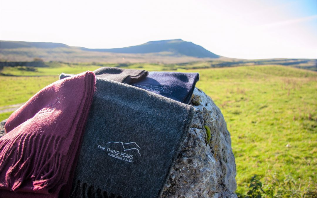 Glencroft launches Three Peaks scarf in aid of Yorkshire Dales charity