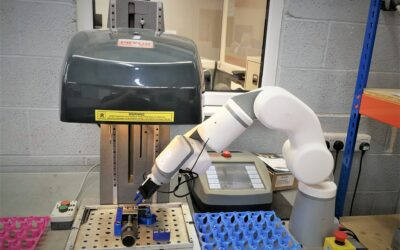 CNC firm acquires new automation robots to support their expansion into more sectors