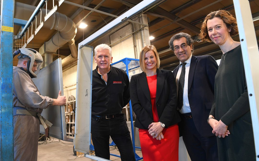 'Energised' Shropshire manufacturer defies Brexit uncertainty with 20% sales increases