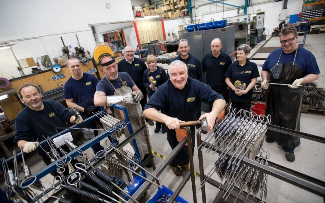 Centuries-old Sheffield scissor manufacturer increases their productivity after bringing processes in-house.