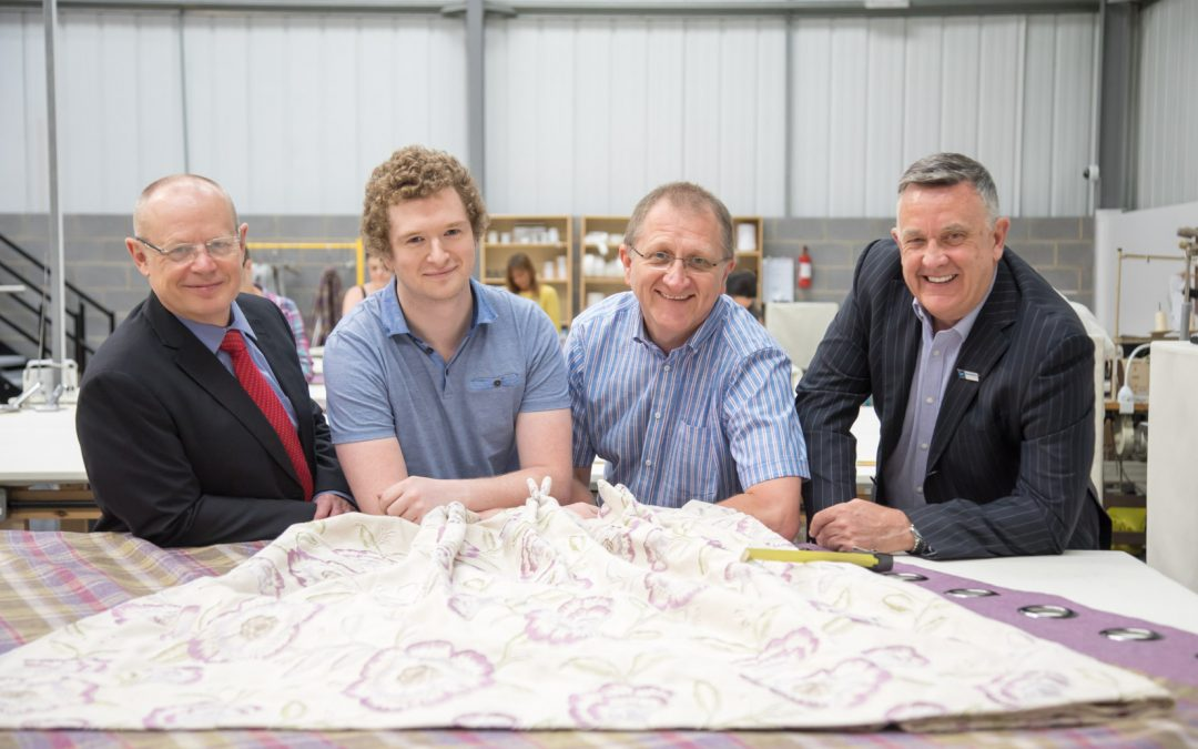 Castleford curtain maker has 15 new jobs all sewn up