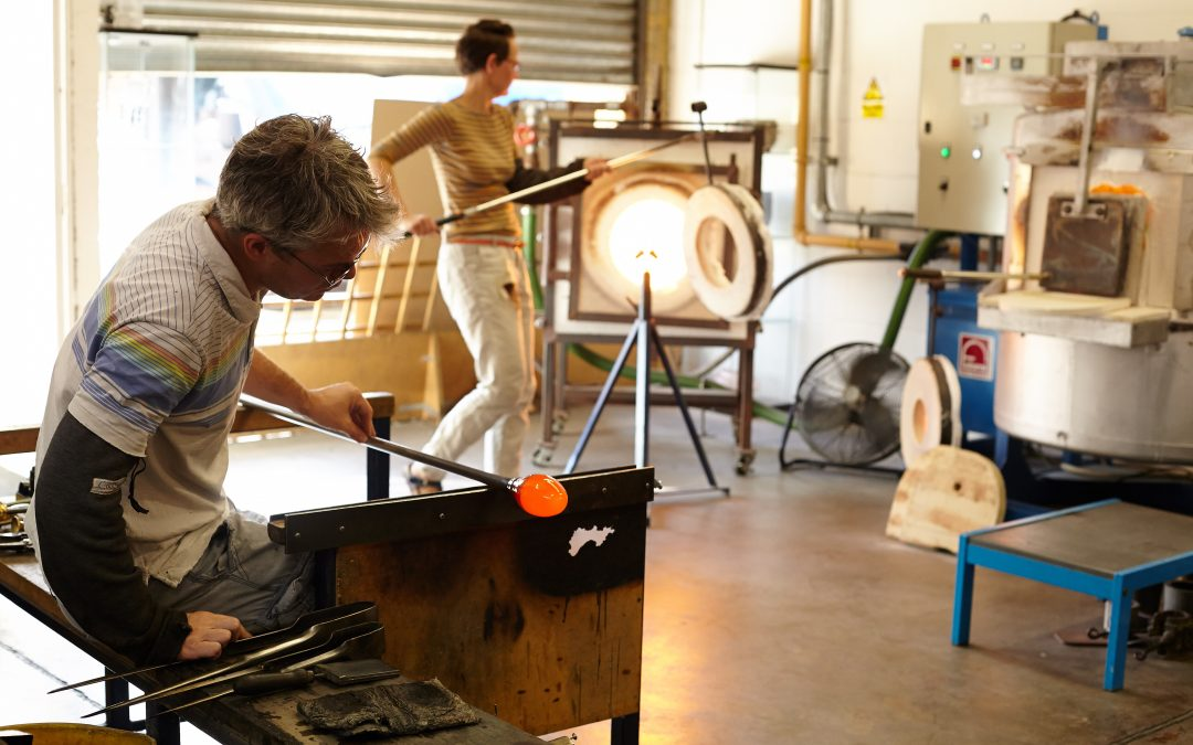 Hertfordshire glassblowing business creates fresh opportunities after new branding sparks their online sales