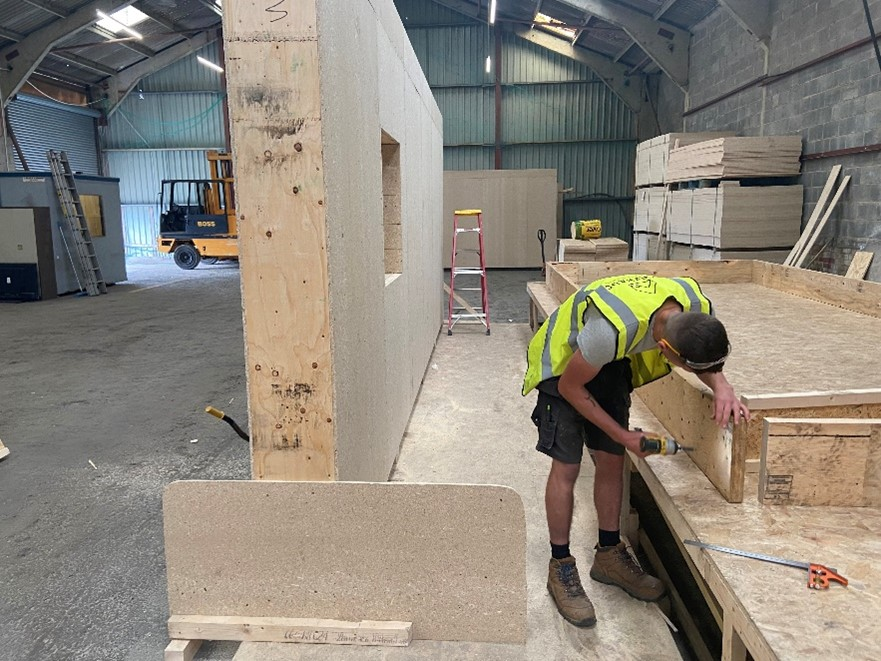 Leeds construction business develops net zero building system using MGP support